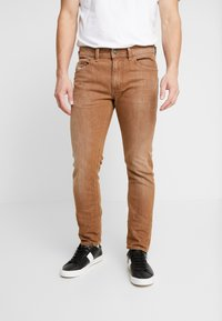 Diesel - THOMMER-SP - Jeansy Slim Fit - ochre - 0