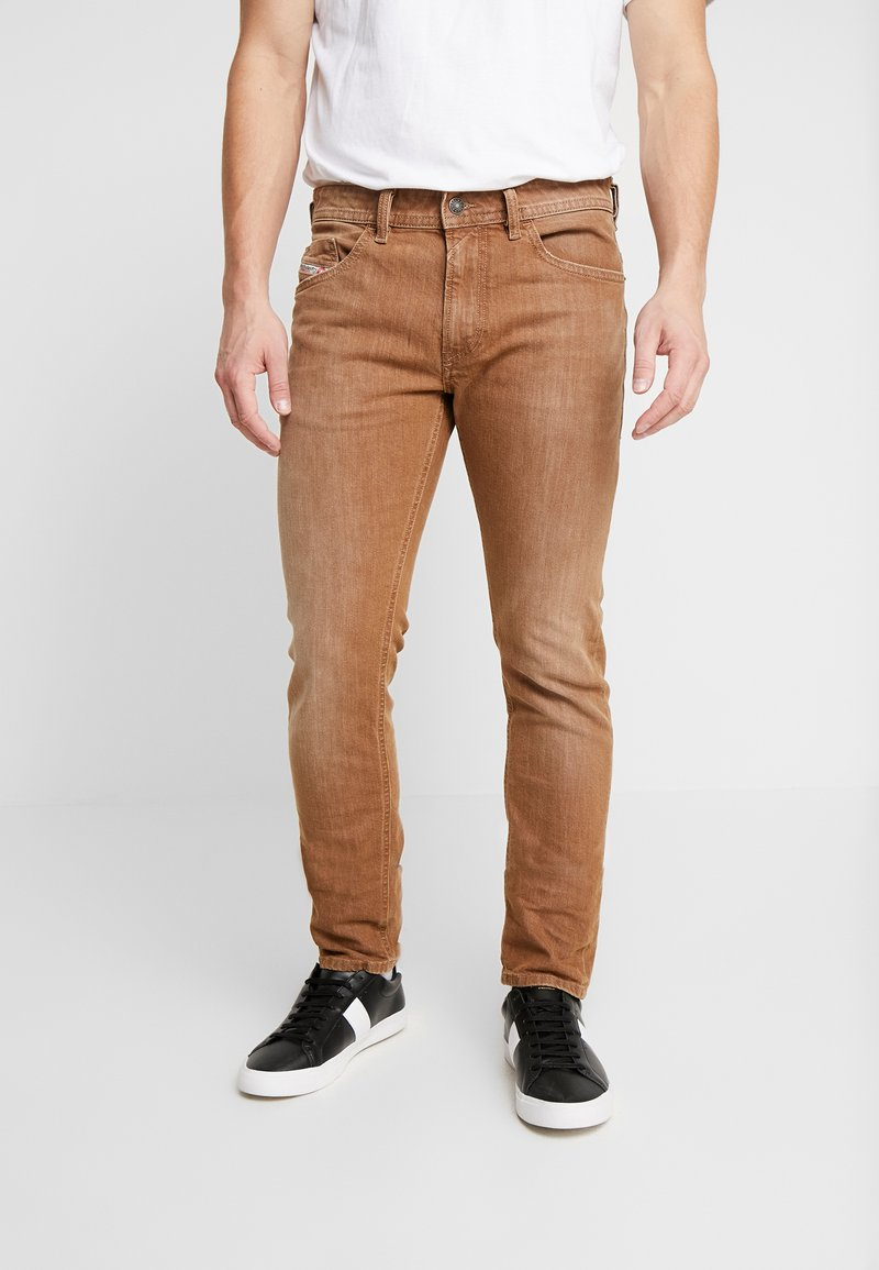 Diesel - THOMMER-SP - Jeansy Slim Fit - ochre