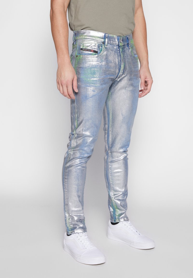 Diesel - Slim fit jeans - silver