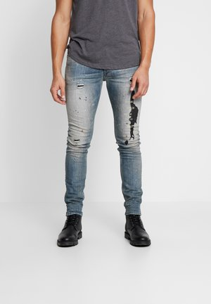 TEPPHAR-X - Vaqueros slim fit - blue denim