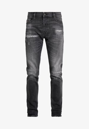 TEPPHAR-X - Slim fit -farkut - black denim