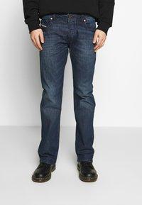 Diesel - ZATINY - Jeans Bootcut - dark blue denim - 0