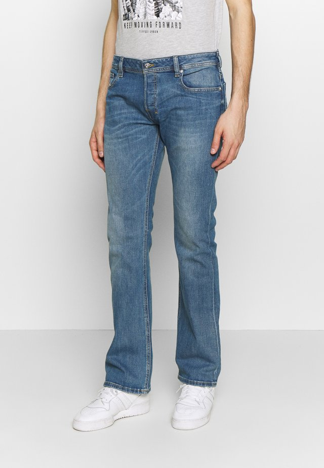 ZATINY - Bootcut jeans - light blue denim