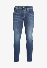 Diesel - SLEENKER-X - Slim fit jeans - dark-blue denim - 4