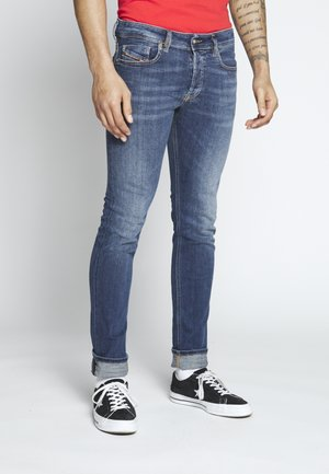 SLEENKER-X - Jeans slim fit - dark-blue denim