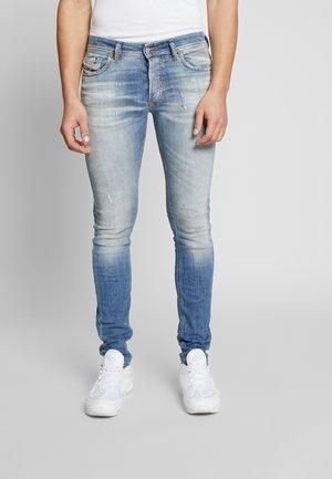 SLEENKER-X - Jean slim - light-blue denim