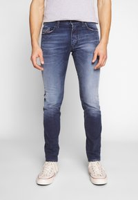 Diesel - THOMMER-X - Jeans slim fit - dark-blue denim - 0