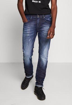 THOMMER - Slim fit jeans - dark blue denim