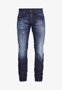 Diesel - THOMMER - Slim fit jeans - dark blue denim - 3