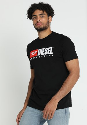 T-JUST-DIVISION - T-shirt print - black