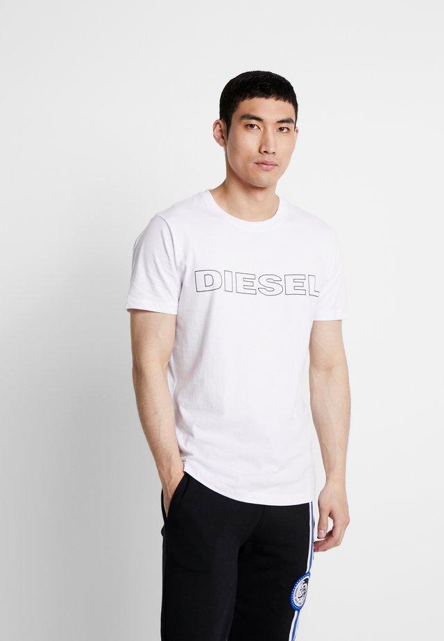 UMLT-JAKE T-SHIRT - Print T-shirt - white