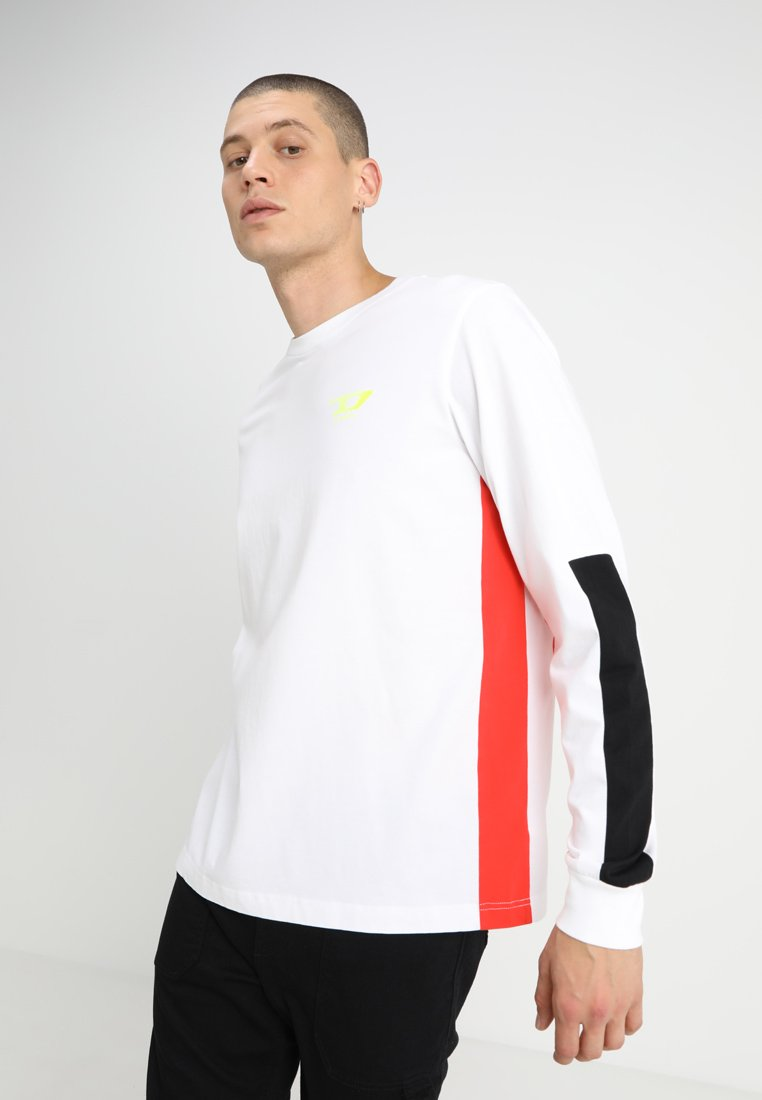 Diesel - T-HARUS-LS T-SHIRT - Långärmad tröja - white