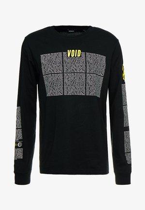 T-JUST-LS-NEW T-SHIRT - Bluzka z długim rękawem - black