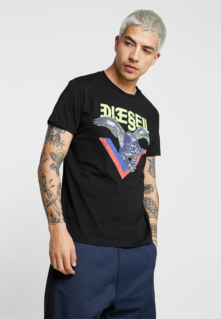 Diesel - DIEGO - T-shirts print - black