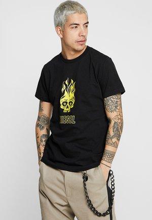 T-DIEGO-A11 T-SHIRT - T-shirt z nadrukiem - black