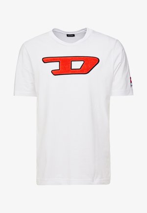 T-JUST-DIVISION-D T-SHIRT - T-Shirt print - white