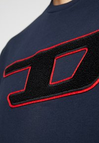 Diesel - T-JUST-DIVISION-D T-SHIRT - Triko spotiskem - dark blue - 5