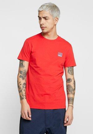 T-DIEGO-DIV T-SHIRT - T-shirt - bas - red