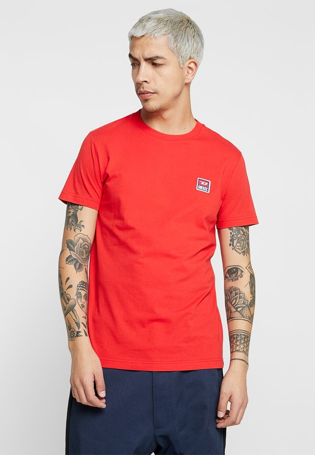 T-DIEGO-DIV T-SHIRT - Basic T-shirt - red