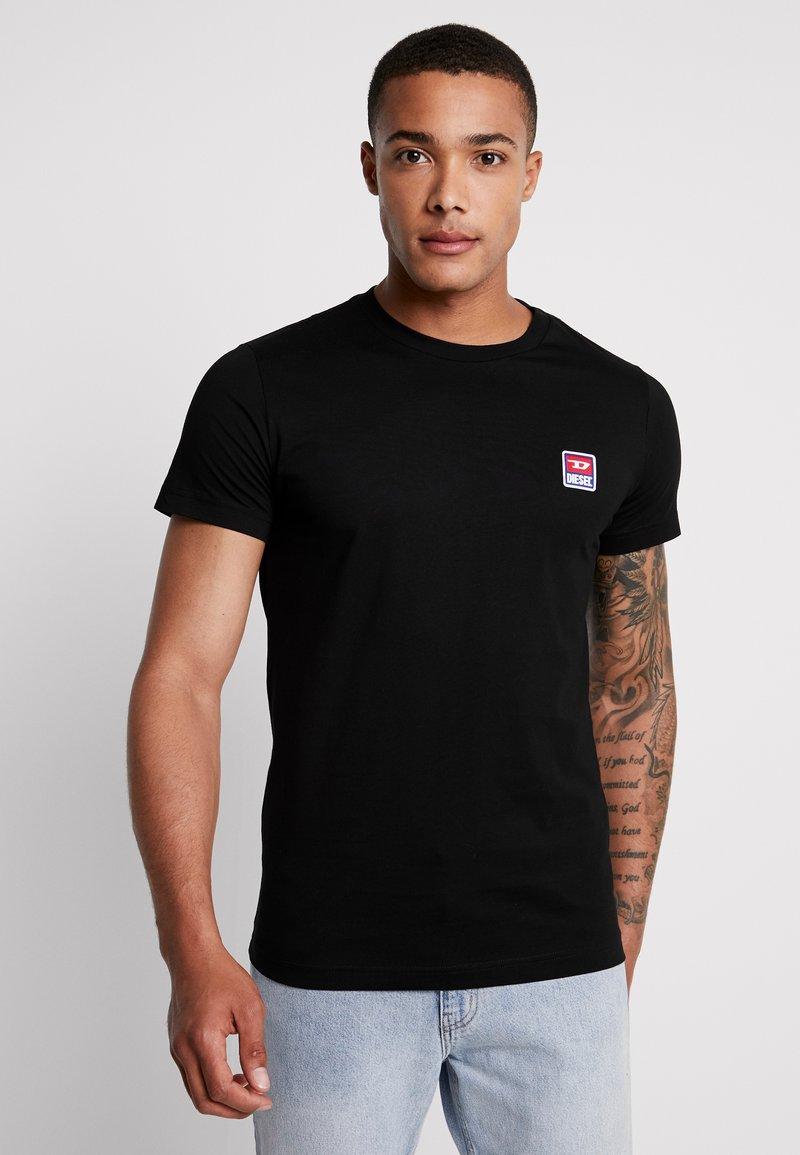 Diesel - T-DIEGO-DIV T-SHIRT - T-shirt basique - black