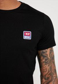 Diesel - T-DIEGO-DIV T-SHIRT - T-Shirt basic - black - 5