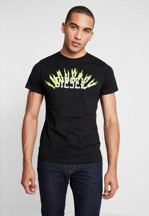 T-DIEGO-A10 T-SHIRT - T-shirts med print - black