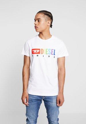 PRIDE BMOWT-DIEGO T-SHIRT - T-shirts med print - white