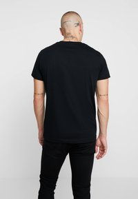 Diesel - T-DIEGO-A3 T-SHIRT - T-shirts med print - black - 2