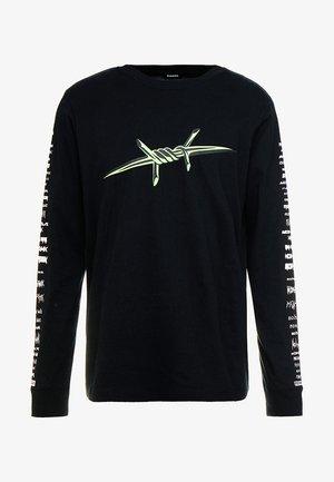 T-JUST-LS - Langærmede T-shirts - black