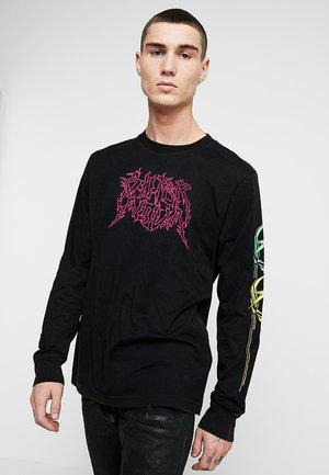 T-JUST-LS-B5 PULLOVER - Pitkähihainen paita - black
