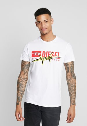 DIEGO - T-shirts med print - white