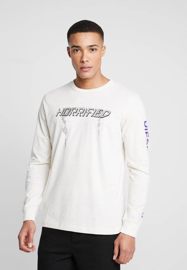 T-JUST-LS-VINT PULLOVER - Longsleeve - creme