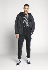 Diesel - T-DIEGO-S3 - T-shirt con stampa - black - 1