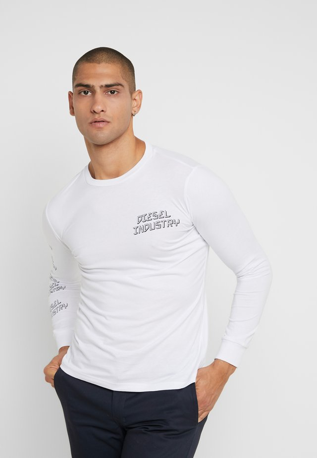 T-DIEGO - Long sleeved top - white