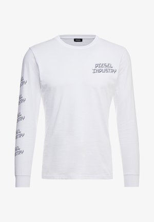 T-DIEGO - Pitkähihainen paita - white