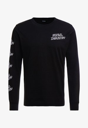 T-DIEGO - Pitkähihainen paita - black