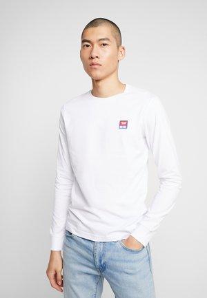 DIEGO PULLOVER - Camiseta de manga larga - white