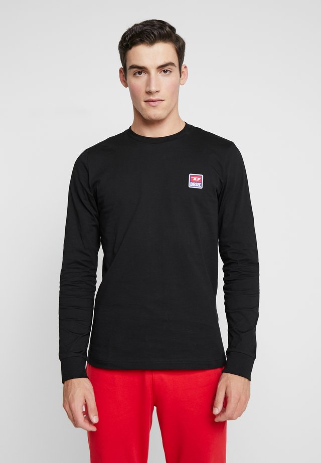 DIEGO PULLOVER - T-shirt à manches longues - black