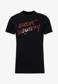 Diesel - T-DIEGO - Triko spotiskem - black - 4