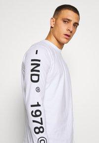 Diesel - T-shirt à manches longues - white - 4
