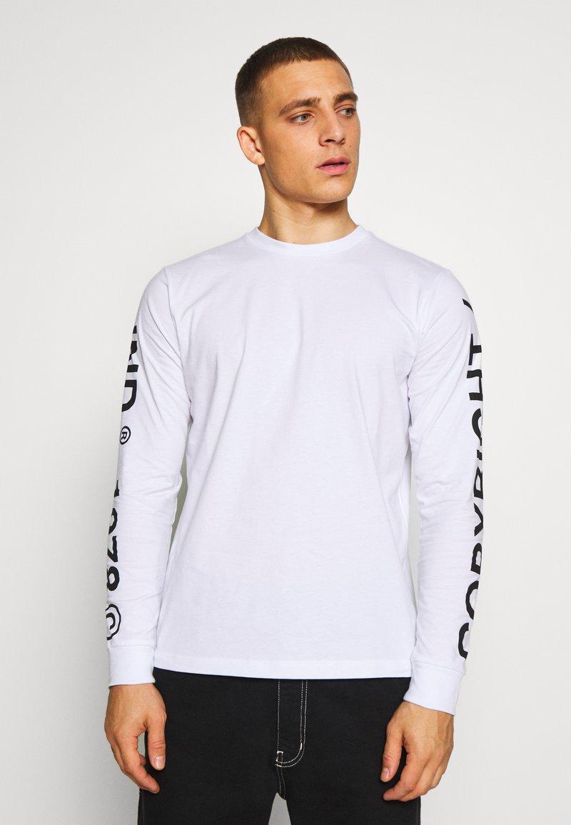 Diesel - T-shirt à manches longues - white