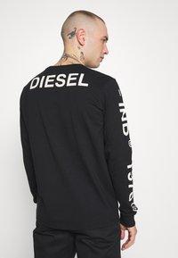 Diesel - Bluzka z długim rękawem - black - 2