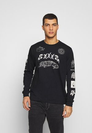 T-JUSTLY - Långärmad tröja - black
