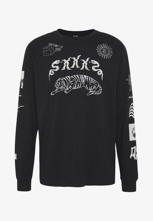 T-JUSTLY - Pitkähihainen paita - black