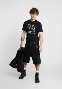 Diesel - JUST - T-shirt con stampa - black - 1