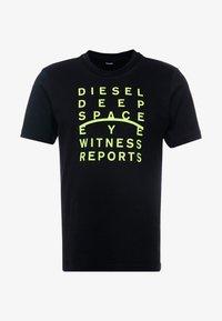Diesel - JUST - Triko spotiskem - black - 4