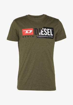 T-DIEGO-CUTY - T-shirt imprimé - khaki