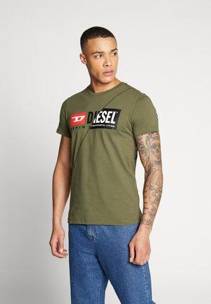 T-DIEGO-CUTY - T-shirts med print - khaki