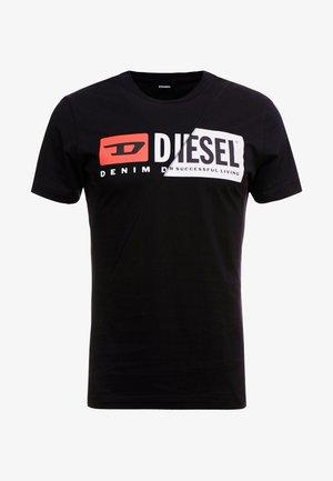 T-DIEGO-CUTY - Print T-shirt - black