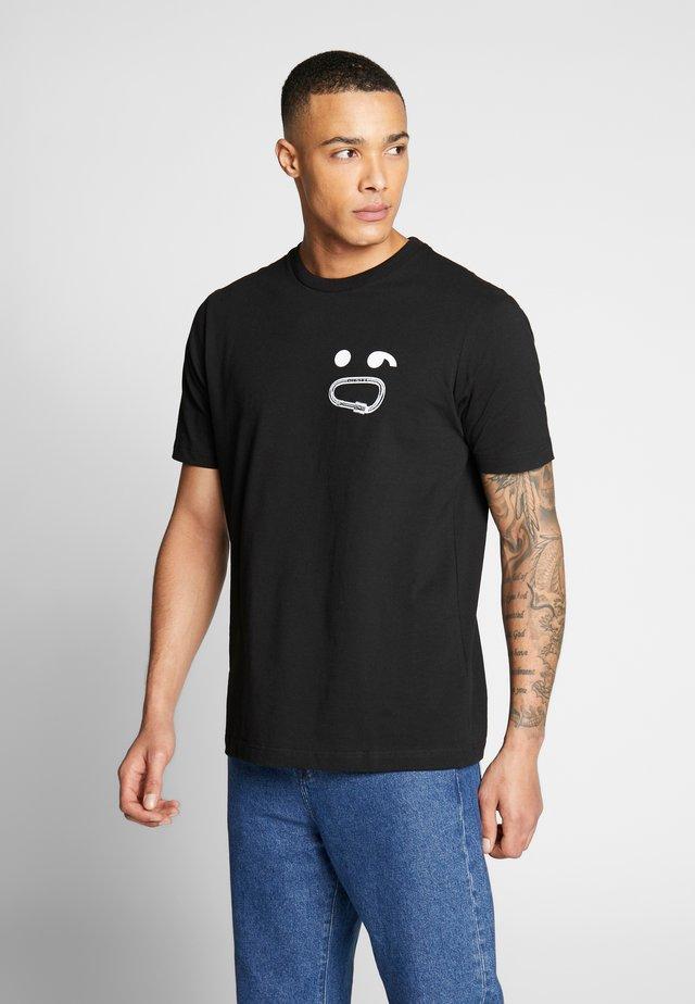 T-JUST-T14 - T-shirt print - black